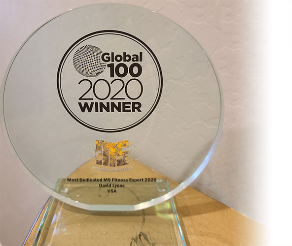 Global Health & Pharma 2020 Award for Most Dedicated MS Fitness Expert
