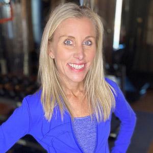 Kathy Chester teaches exercise